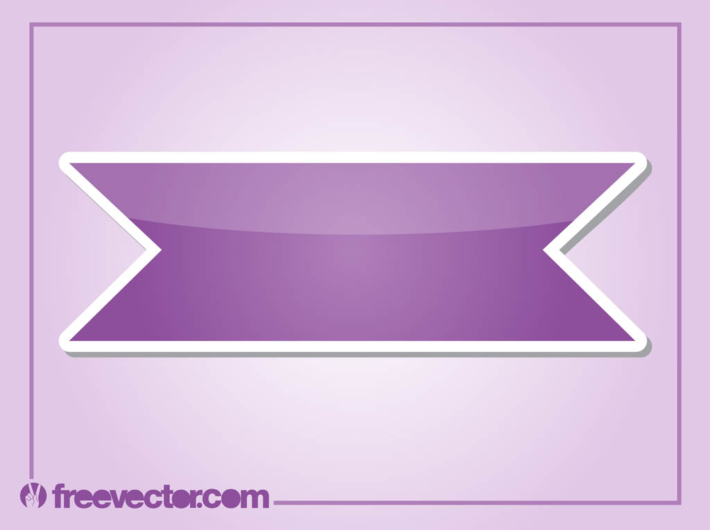 Purple Sticker Graphics