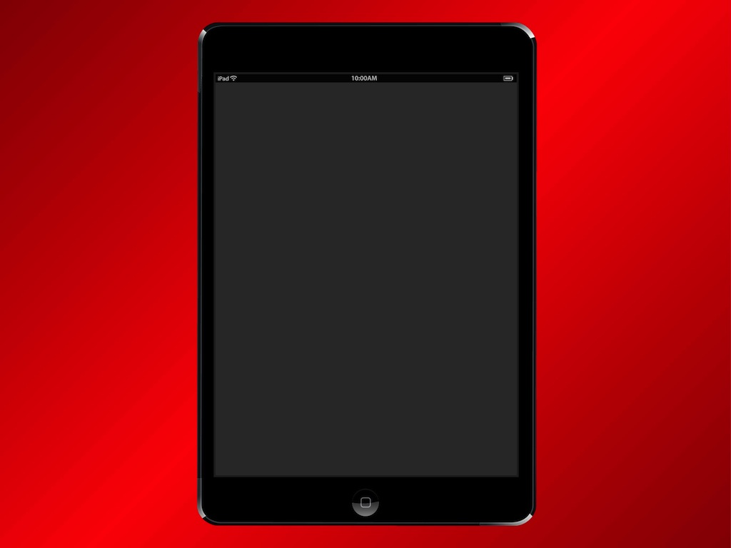iPad Mini Vector
