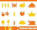 Thanksgiving Icons Set