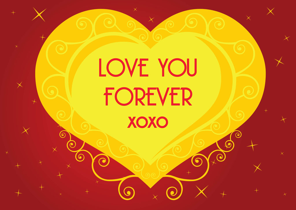 Love Heart Graphics. Love Heart Vector Graphics
