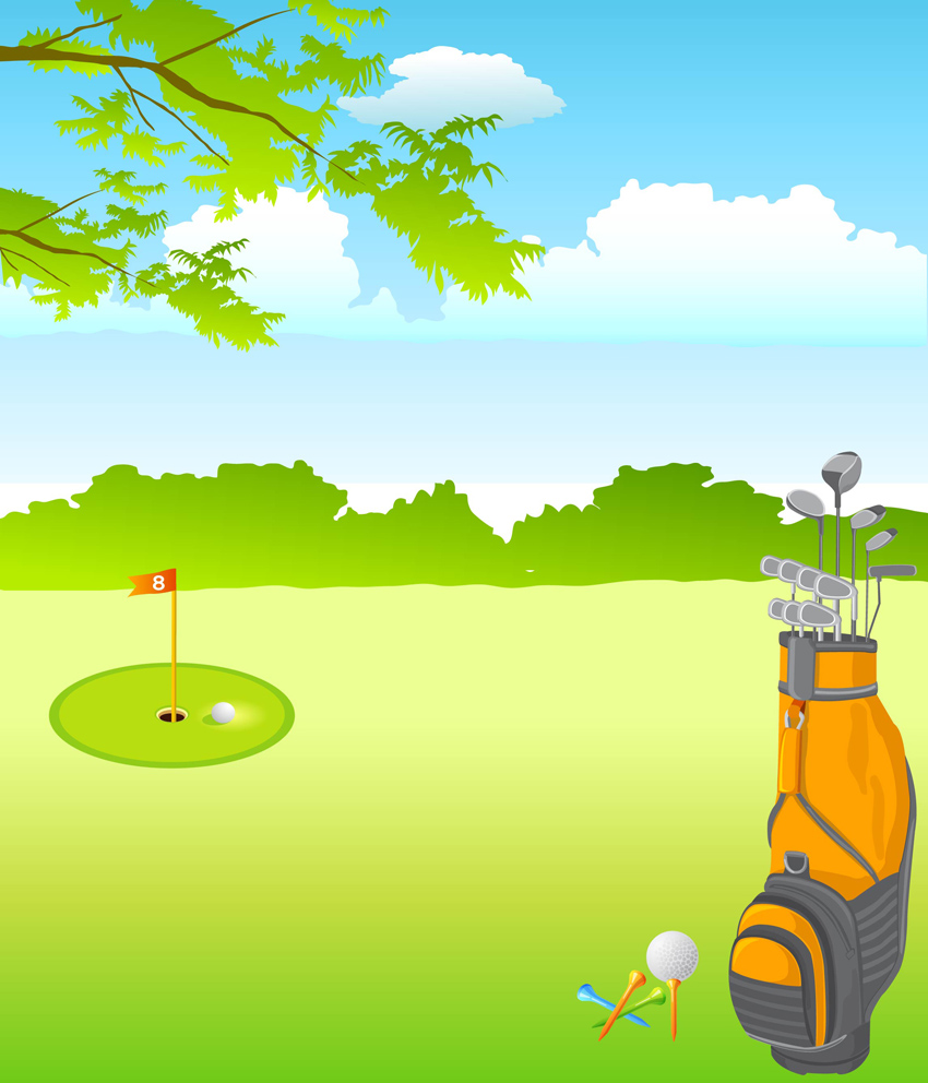 free golf club pictures clip art - photo #45