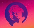 Free Marilyn Monroe Vector Graphics