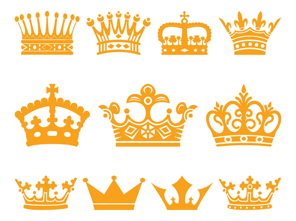 free vector clipart crown - photo #3