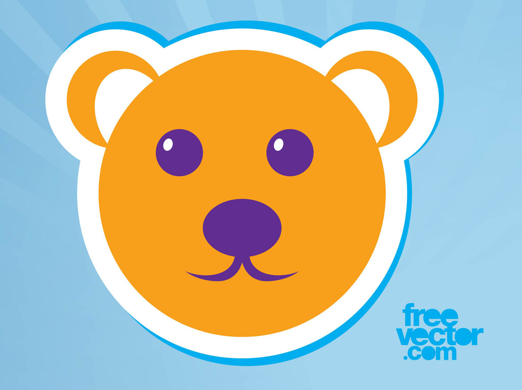 bear icon vector art graphics freevector com bear icon vector art graphics