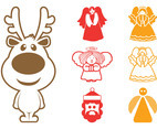 Christmas Characters Graphics