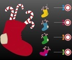 Christmas Stockings Vector