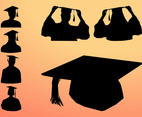 Graduation Silhouette Graphics