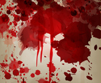 Blood Splatter Vector Background