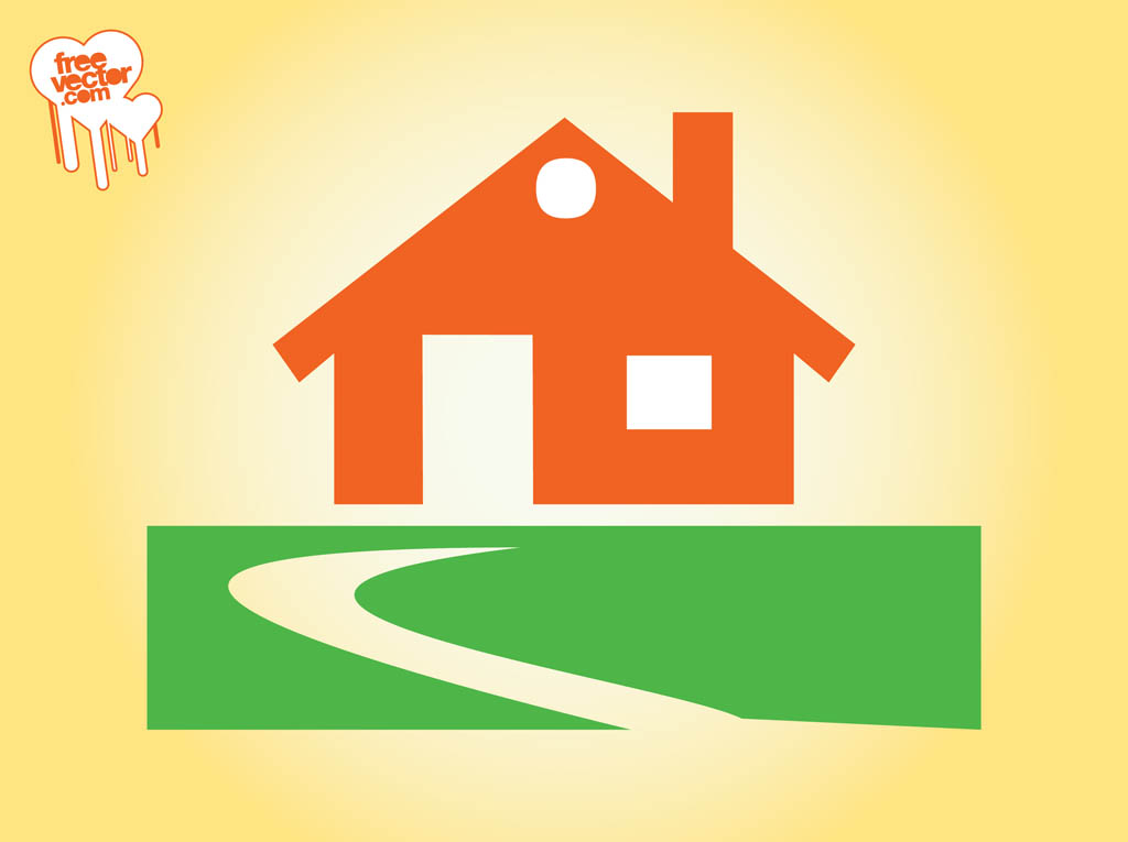 Home vector icon Home decoration vector free