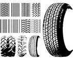 Tires And Tire Prints