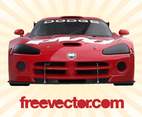 Dodge Viper Front View