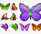 Butterfly Vector Cartoons