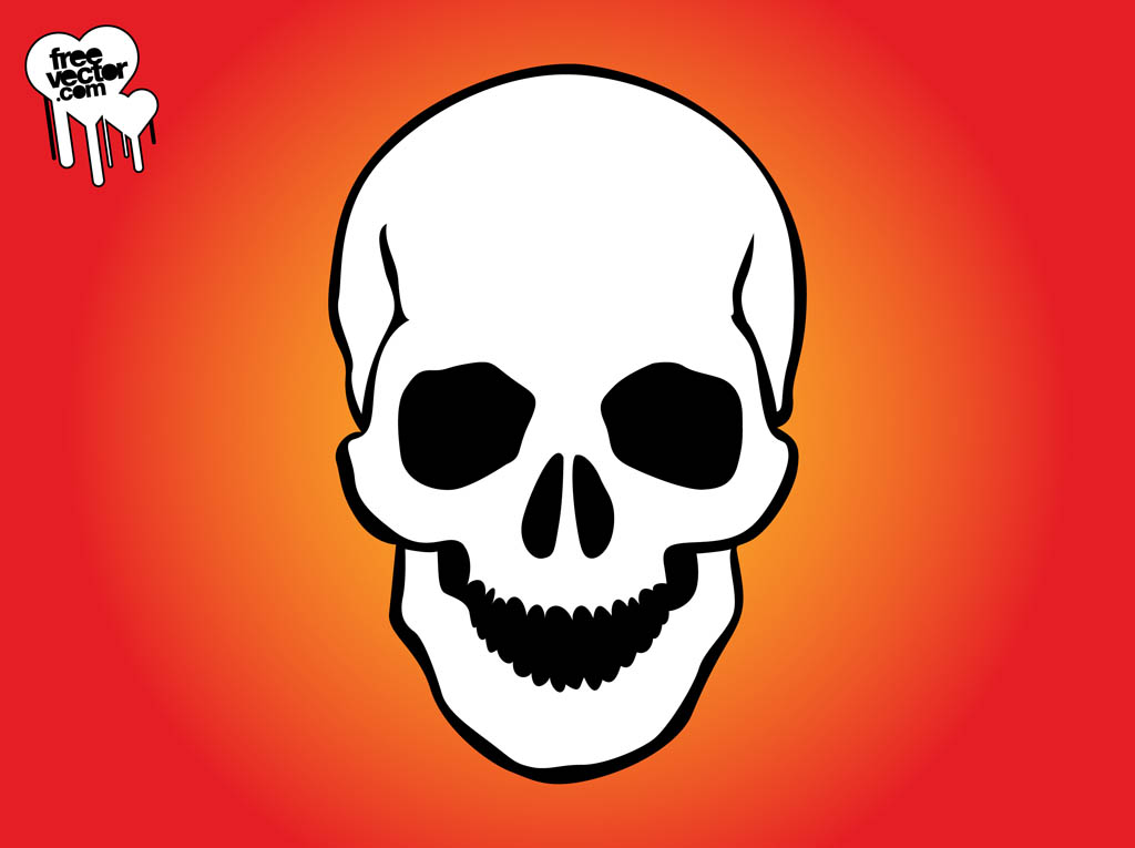 Smiling Skull Graphics
