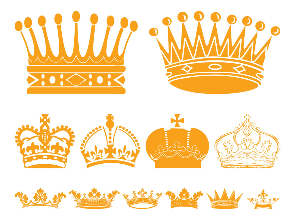 free vector clipart crown - photo #33