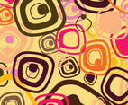 Sixties Pattern Vector