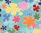 Cartoon Flowers Background