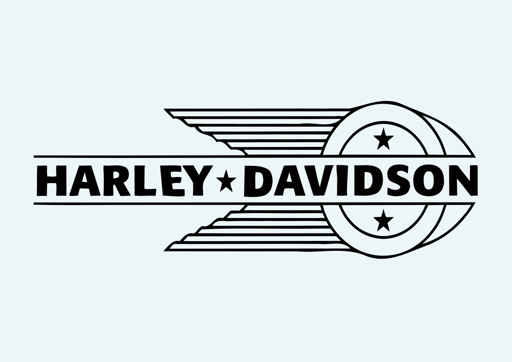 Free Coloring Pages Of Harley Davidson Logo