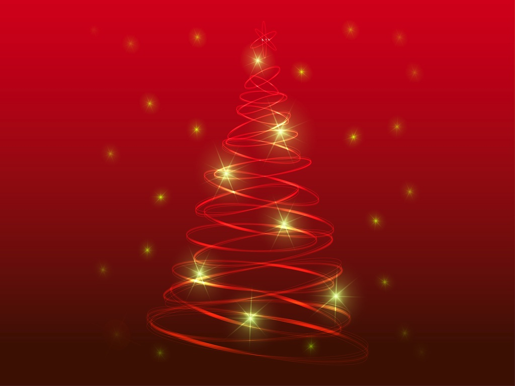 FreeVector Stylized Christmas Tree