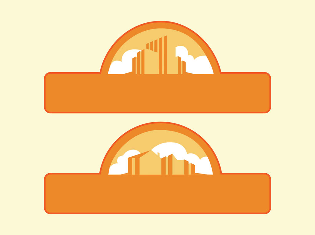 Vector City Labels