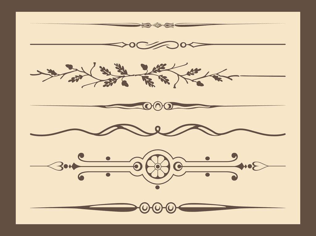 Antique Vector Ornaments