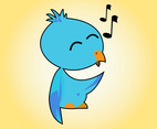 Cute Singing Bird