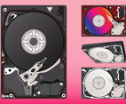 Hard Disks Graphics