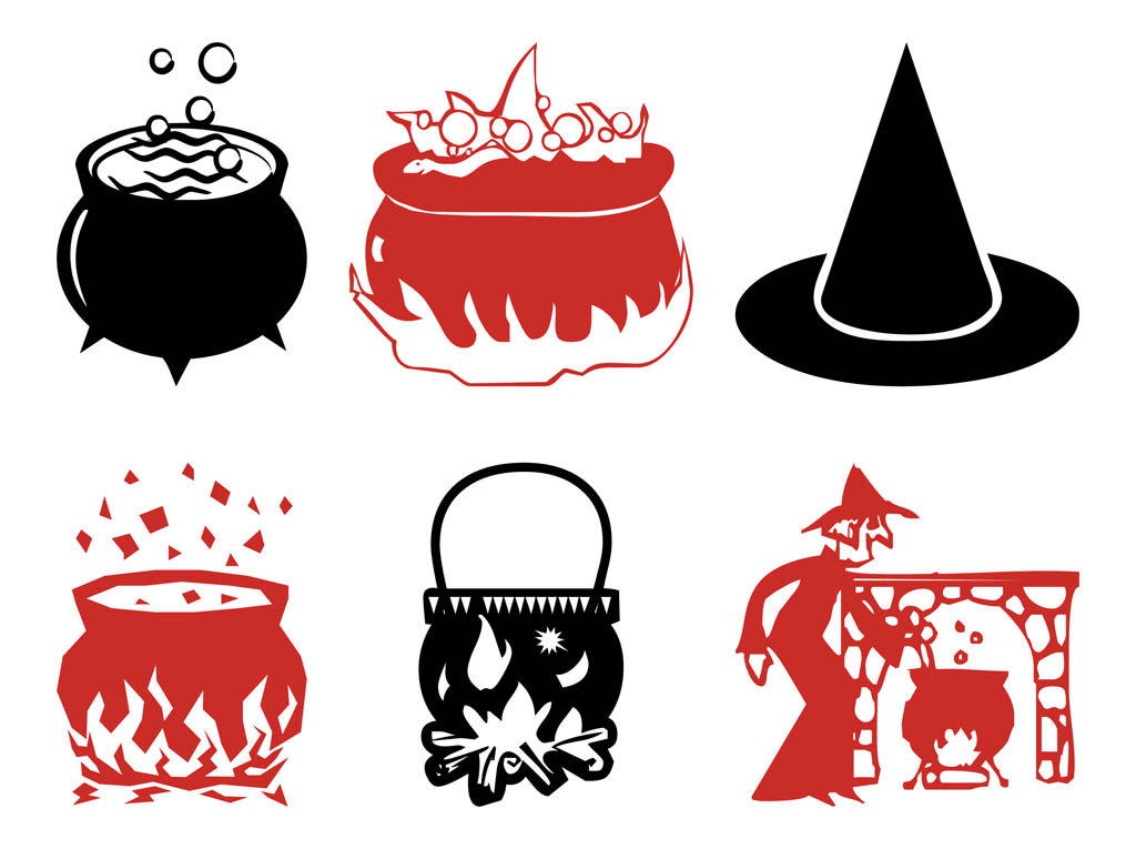 Witch Graphics Set