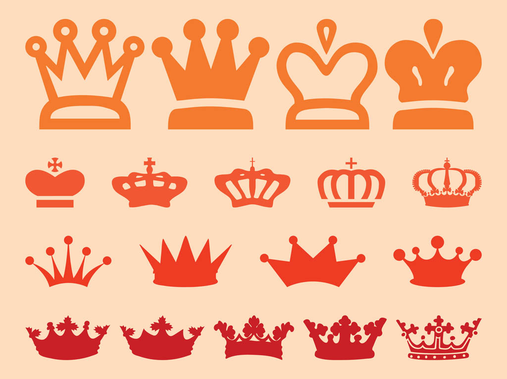 free vector clipart crown - photo #6