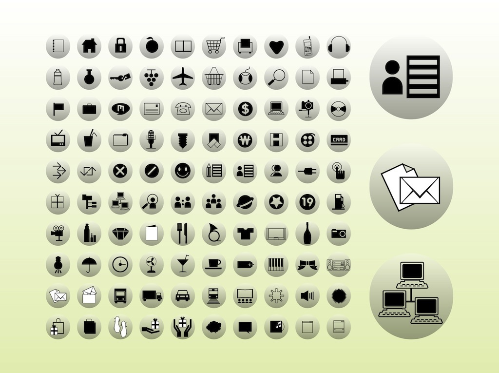 Icons Buttons Graphics