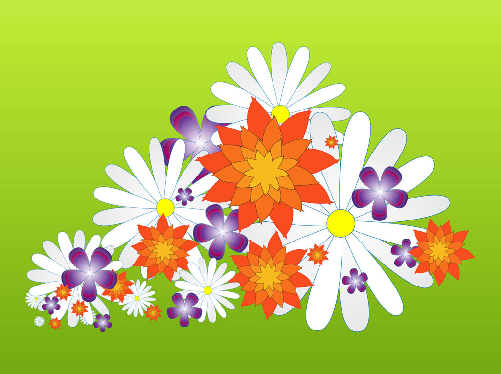 Spring Flower Blossoms Graphics