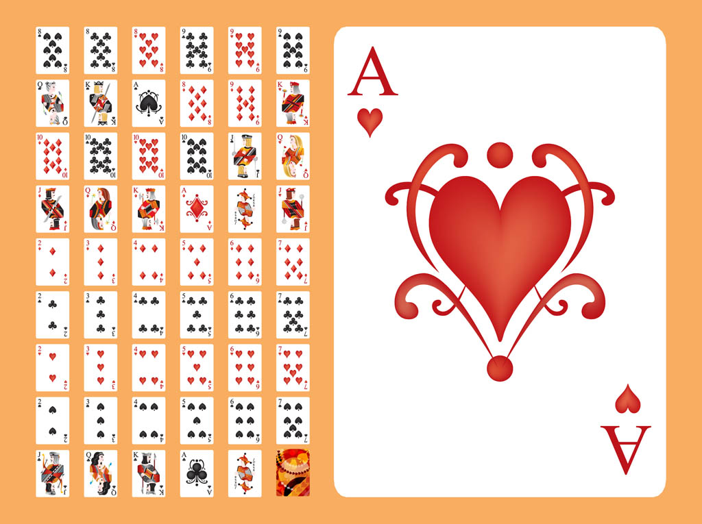 Poker cards pictures free