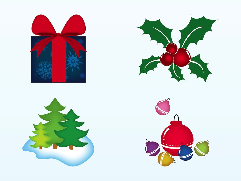 free christmas vector clipart - photo #6