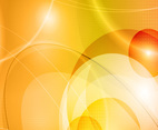 Golden Abstract Vector Background
