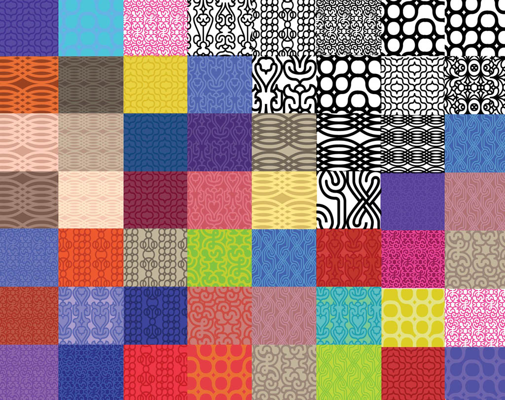 Vector Pattern Swatches