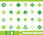 Clover Leaves Set