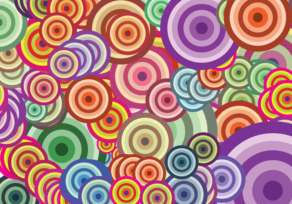 colorful circle vector graphic - photo #21
