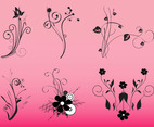 Decorative Flowers Graphics