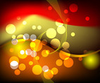 Bokeh Vector Background