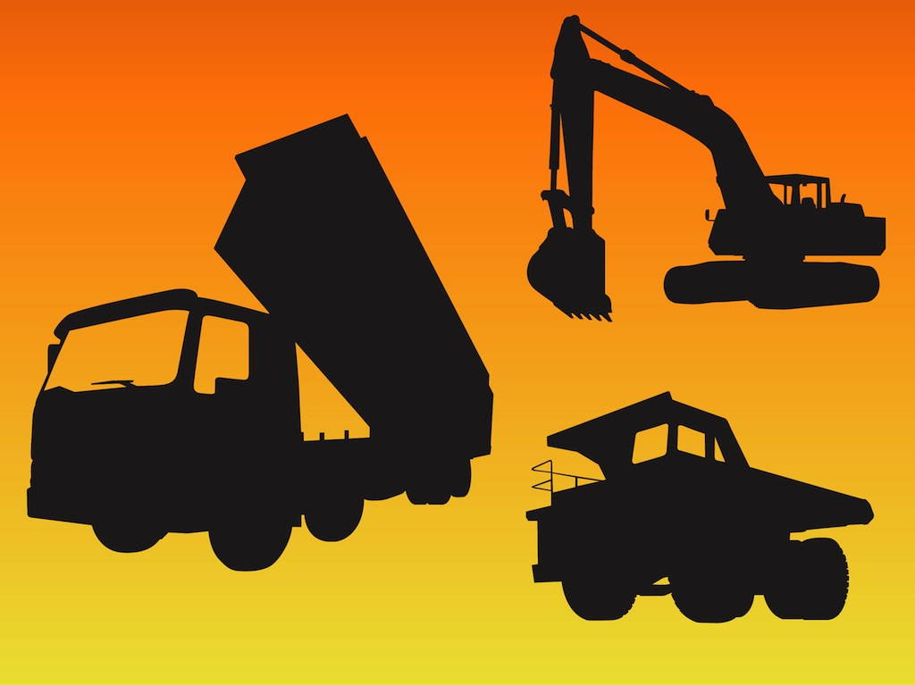 Construction Vehicle Vectors