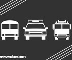 Vehicle Icons Graphics