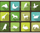 Animal Icon Vector Pack