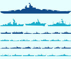 Ship Silhouettes Graphics