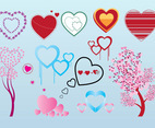 Free Valentine Heart Vector Graphics