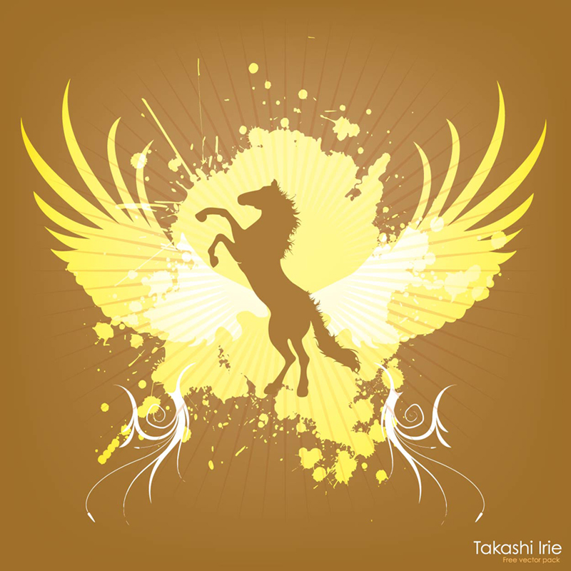 Jumping Horse Graphics