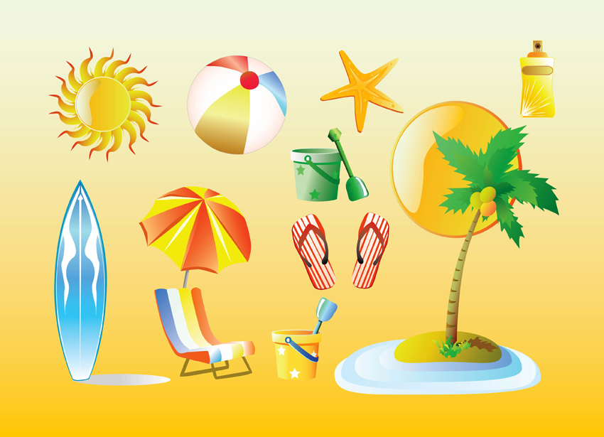 summer vacation clipart - photo #2
