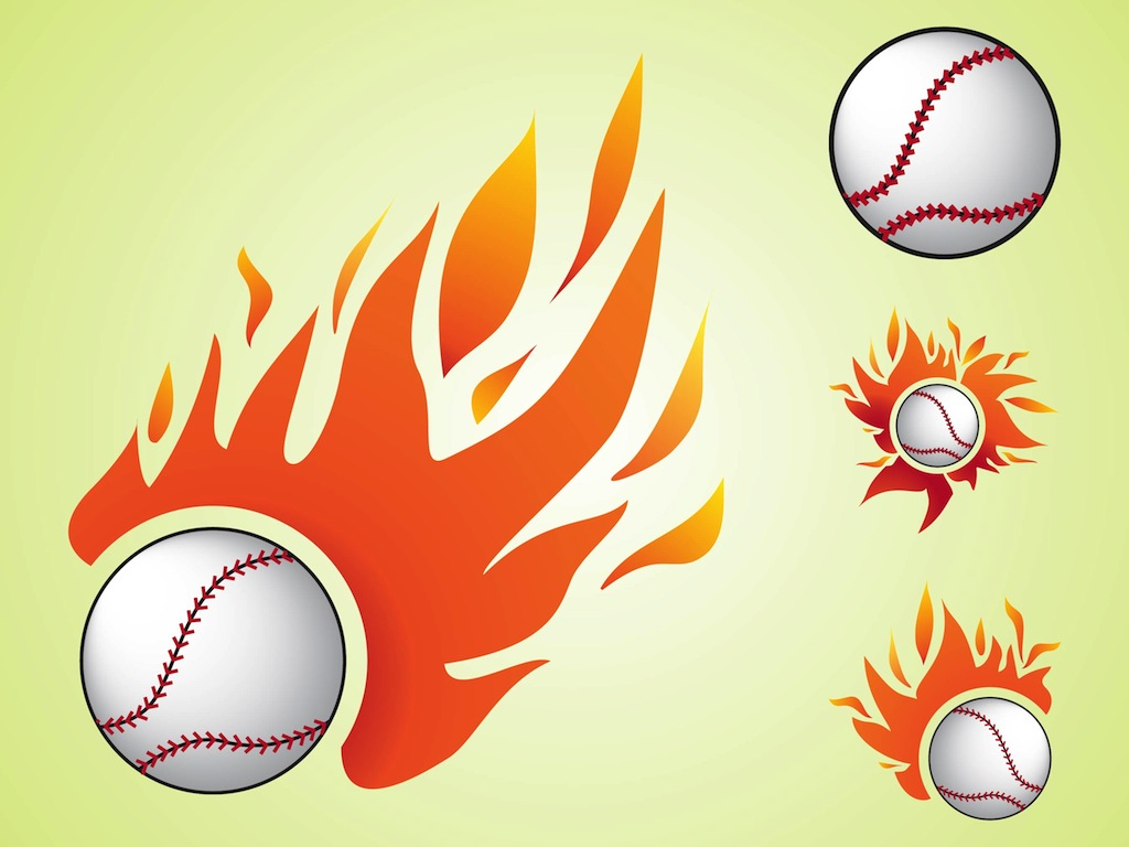 Burning Baseball