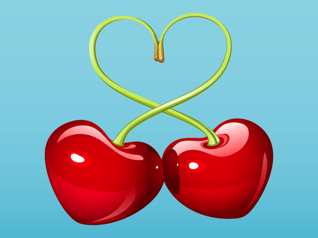 Cute Cherries Background Cute Cherries Background Lovely Cherries